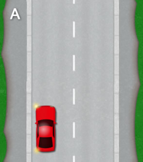 three point turn diagram