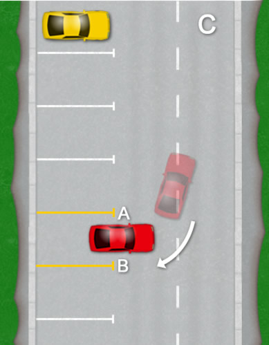 Bay parking diagram C