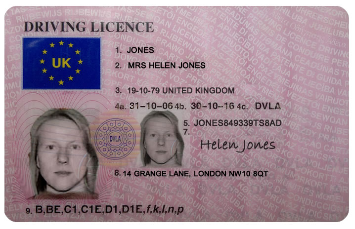 UK Driving Licence