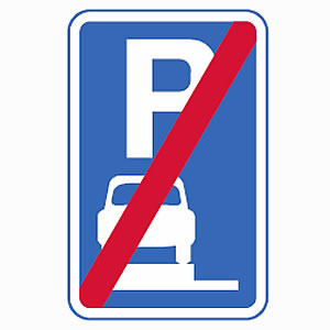End of verge or pavement parking permit