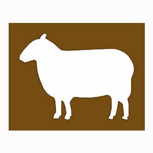 Farm park tourist information symbol
