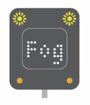 Fog motorway signal