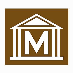 English museum symbol