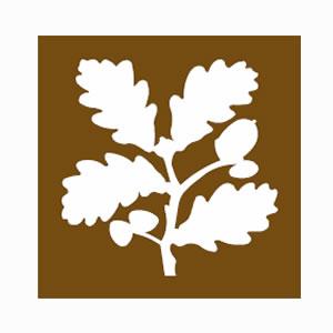 National Trust brown sign symbol