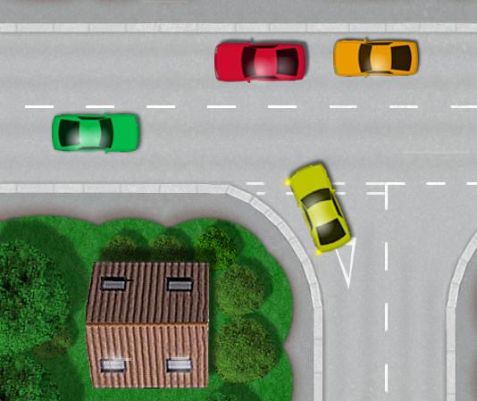 how to park close to kerb