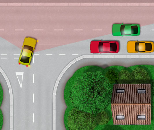 Parking too close to a junction
