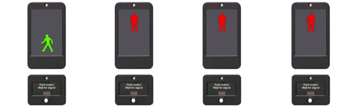 Puffin Crossing Lights