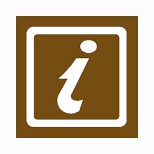 Tourists information symbol