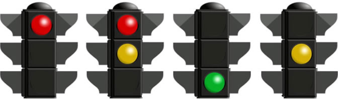 Traffic lights sequence