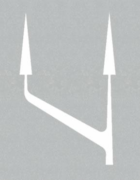 Traffic may use both lanes at end of bus lane road marking