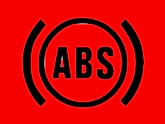 Vauxhall Vectra Anti-lock Brakes (ABS) warning light