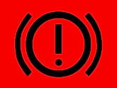 Vauxhall Vectra clutch and brake warning light