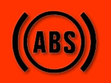 Vauxhall Zafira anti-lock brakes (ABS) red warning light