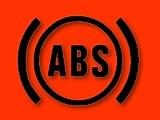 Vauxhall Zafira anti-lock brakes (ABS) red warning light