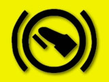 Vauxhall Zafira press footbrake warning light