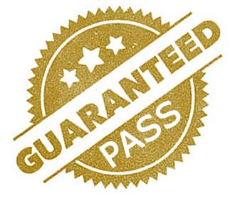 Guaranteed pass driving courses