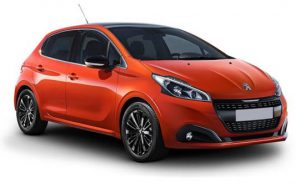 Peugeot 208 1.6 BlueHDi - most fuel efficient car