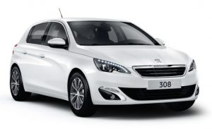 Peugeot 308 1.6 Blue HDi - 2nd most fuel efficient car