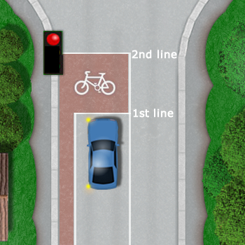 Advanced stop lines / Cyclist waiting box