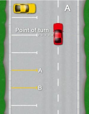 How to bay park: Diagram A