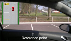 Bay parking reference point