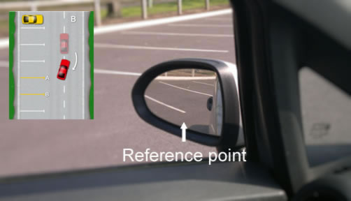Bay Parking Reference Points Driving Test Tips