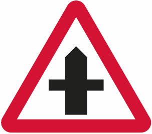 Road Signs Images And Meanings >> Crossroads Junctions – Driving Test Tips