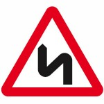Double bend signs