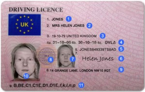 Driving License Counterpart Explained