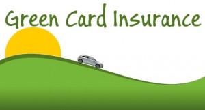 Green card insurance