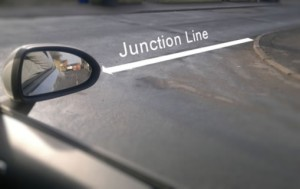 Stopping at a junction reference point