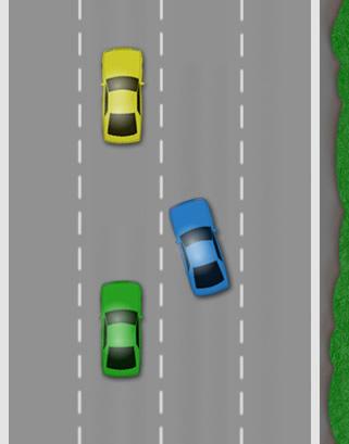 Lane discipline