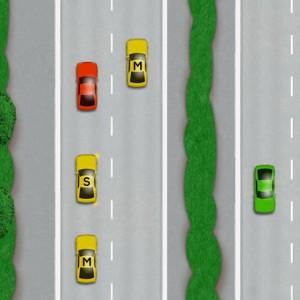 Motorway overtaking