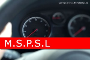 MSPSL driving routine