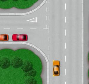 'Open' left turn