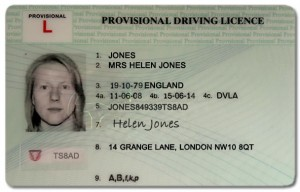 Provisional Driving Licence UK