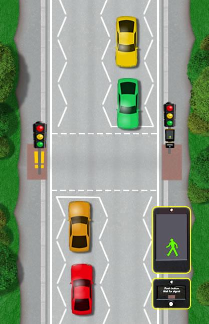pedestrian crossings  u2013 driving test tips