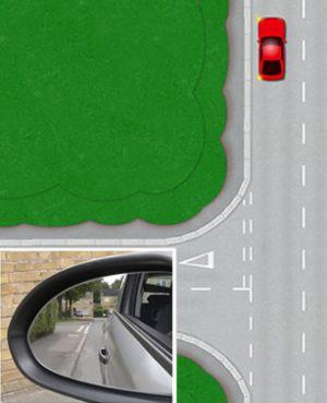 Reverse around a corner - Prepare the car