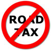 Driving without tax