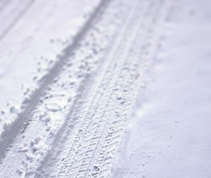 The driving test in snow, ice or frost