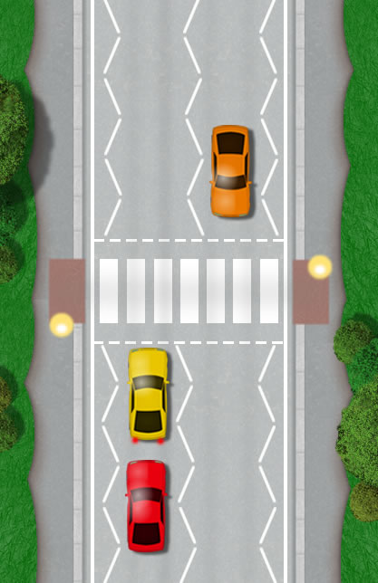 Pedestrian Crossings Driving Test Tips