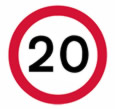 20mph speed limit
