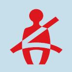 Audi A3 Seat belt not secured warning light