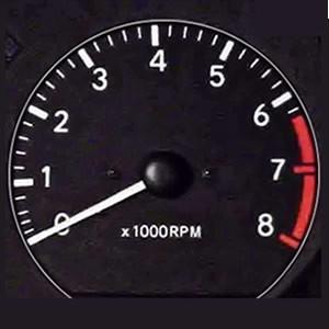 Car rev counter