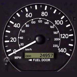 Car Instrument Panel - Driving Test Tips