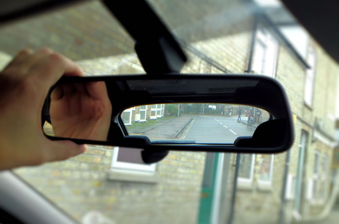 Use of mirrors driving test tips for Uses of mirror