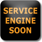 Nissan Juke Service Engine Soon dashboard warning light