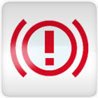 Nissan Micra (exclamation mark) brake dashboard warning light