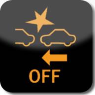 Citroen C1 active city brake deactivated dashboard warning light