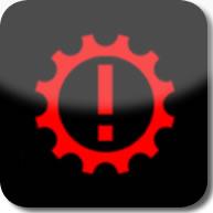 Citroen C1 ETG electronic gearbox dashboard warning light
